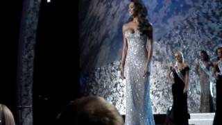 Miss Usa 2009 Dress Rehearsal Crystal Stewart Final Walk