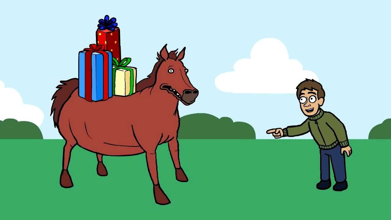 Gift horse youtube gift horse negle Image collections