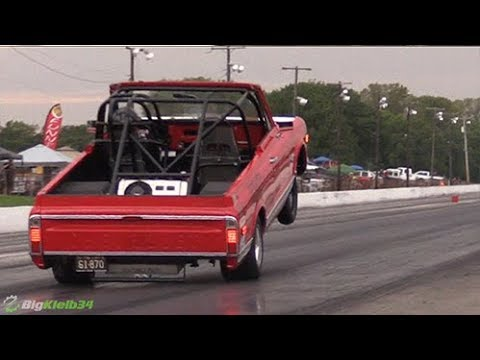 Convertible Wheelie Blazer Went 9s On 7 Cylinders! (Whipple + Nitrous) - 동영상