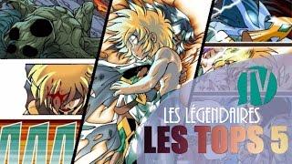 Les Légendaires TV : TOPS 5 – N°4 : Les scènes émouvantes