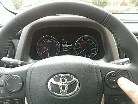 How To Reset A Maintenance Light On 2017 Toyota Rav 4