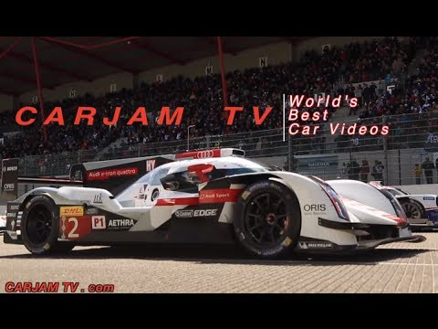 Audi R18 2014 Pre Le Mans Spa Race Engine Sound In Car LMP 2014 Commercial Carjam TV HD