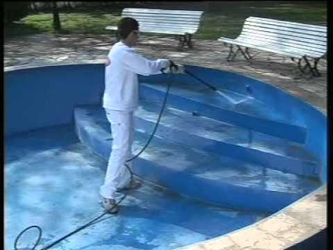 Guia para pintar piscinas youtube for Como se construye una piscina de concreto