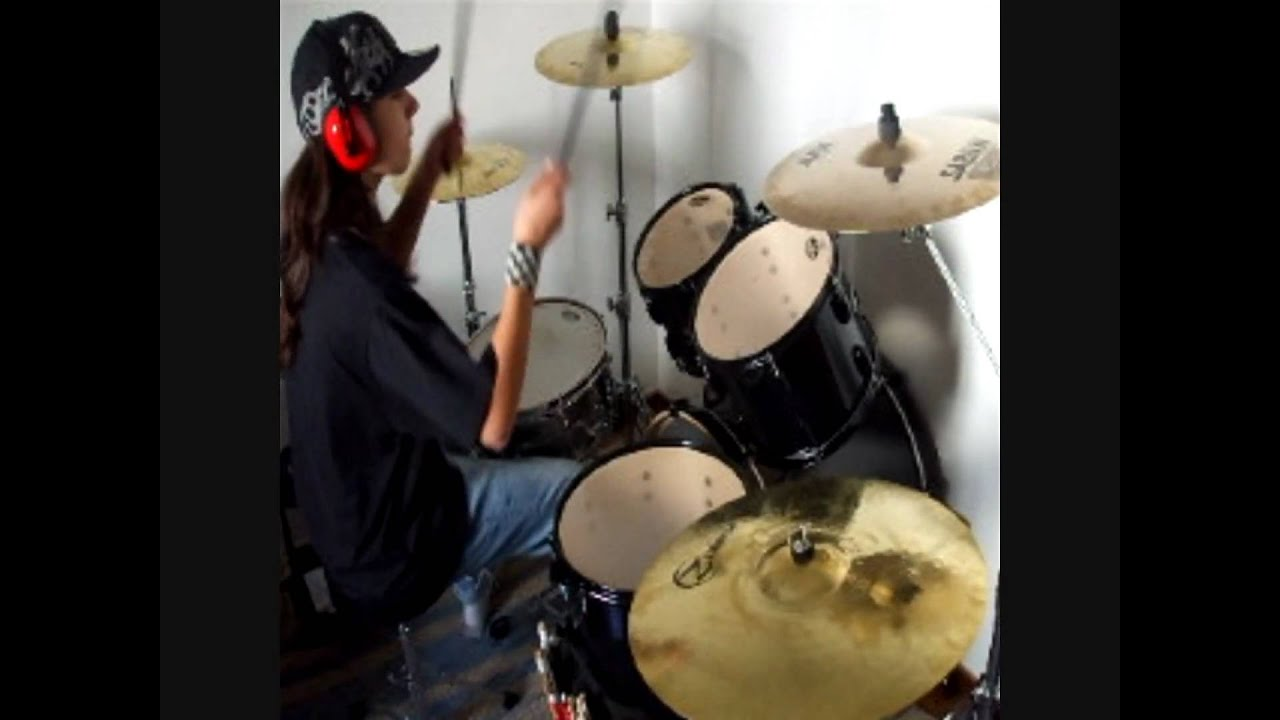Tokio Hotel - Scream Drum Cover Girldrummerth