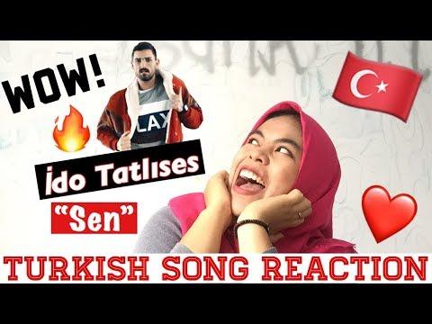 TURKISH SONG REACTION ( İdo Tatlıses - Sen )