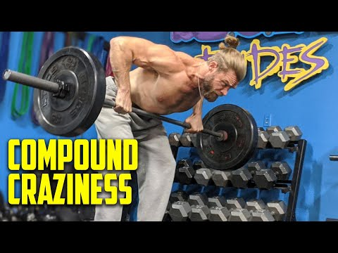 COMPOUND EXERCISE CRAZINESS! Full Body Workout | Superhero Plan Stage 4 Day 2
