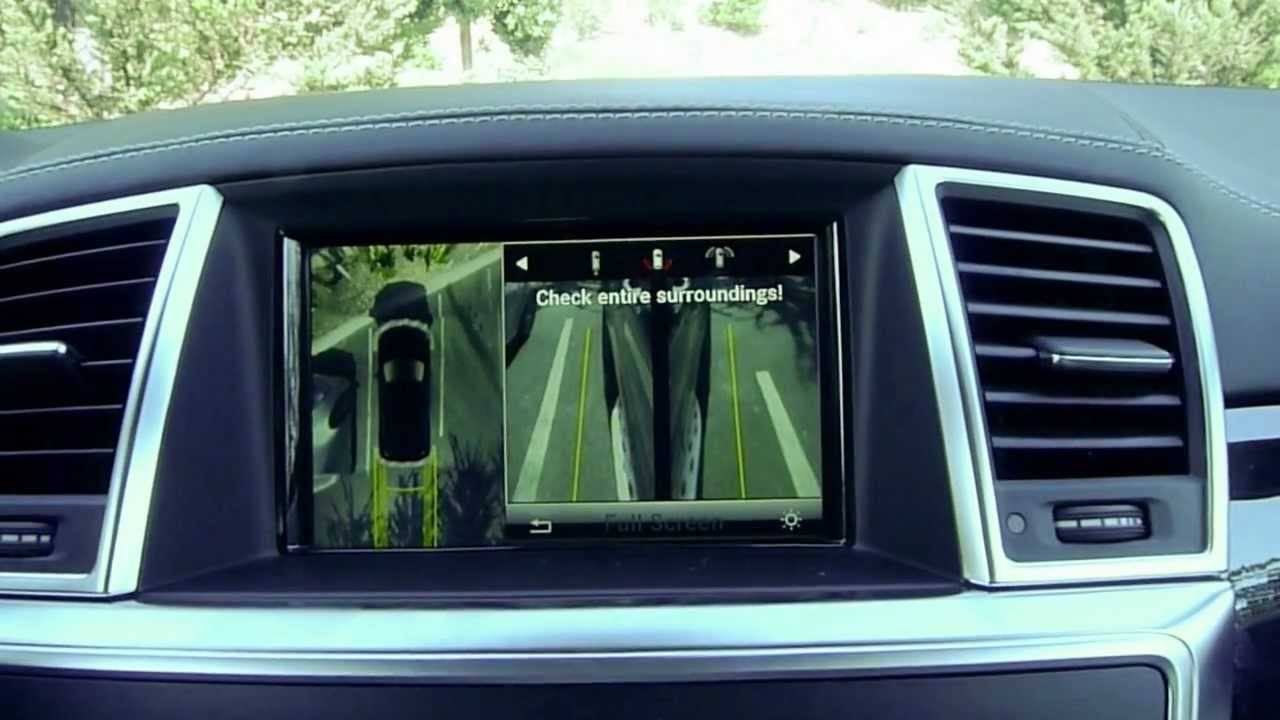 notcot mercedes benz 2013 gl 360 degree surround view camera 1 2 youtube. Black Bedroom Furniture Sets. Home Design Ideas