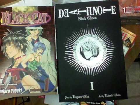 Manga update Death note(black edition) - YouTube