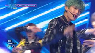 BLIND FOR LOVE - AB6IX (에이비식스) [뮤직뱅크 Music Bank] 20191018