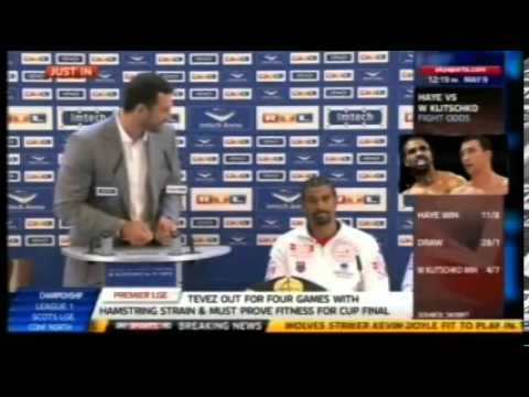Klitschko vs Haye Hamburg Press Conference