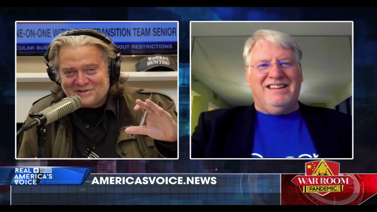 TGP's Joe Hoft Joins Steve Bannon After Pres. Trump Tweeted About Election Fraud