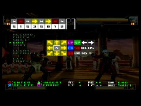 King Of Fighters 2002 UM EX Challenge Command #1