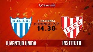 Juv.Unida Gualeguaychu vs Institute full match