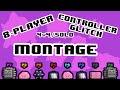 4v4 8-Player Controller Glitch Montage - SSB4 Wii U