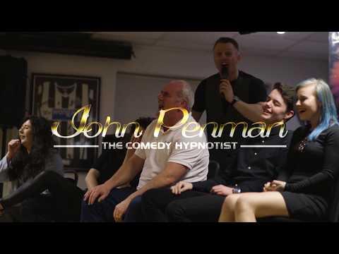 John Penman The Comedy Hypnotist Promo Reel