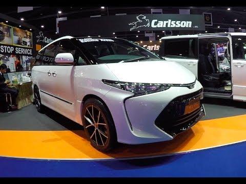 New 2017 luxury MPV Toyota Estima 2018