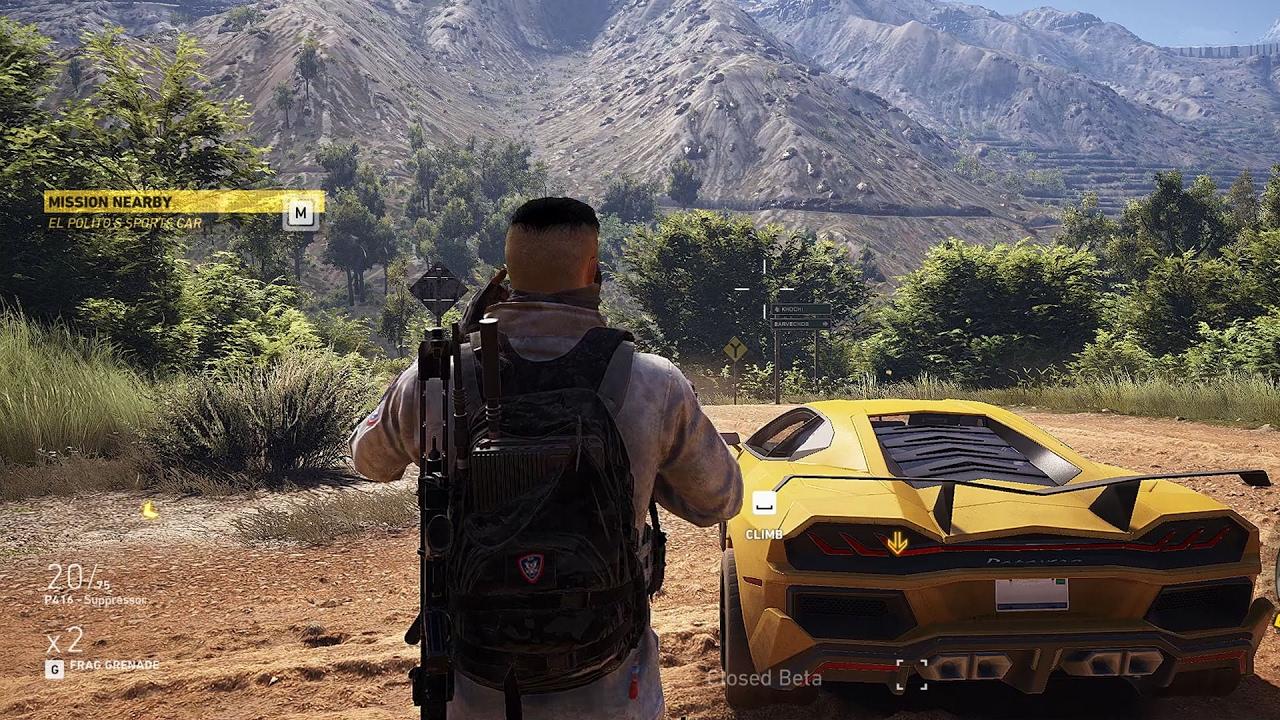 Tom Clancy's Ghost Recon: Wildlands Gameplay (PC HD