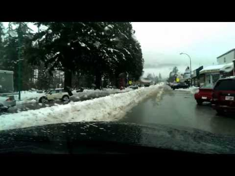 Snow Plowing in Hope, BC