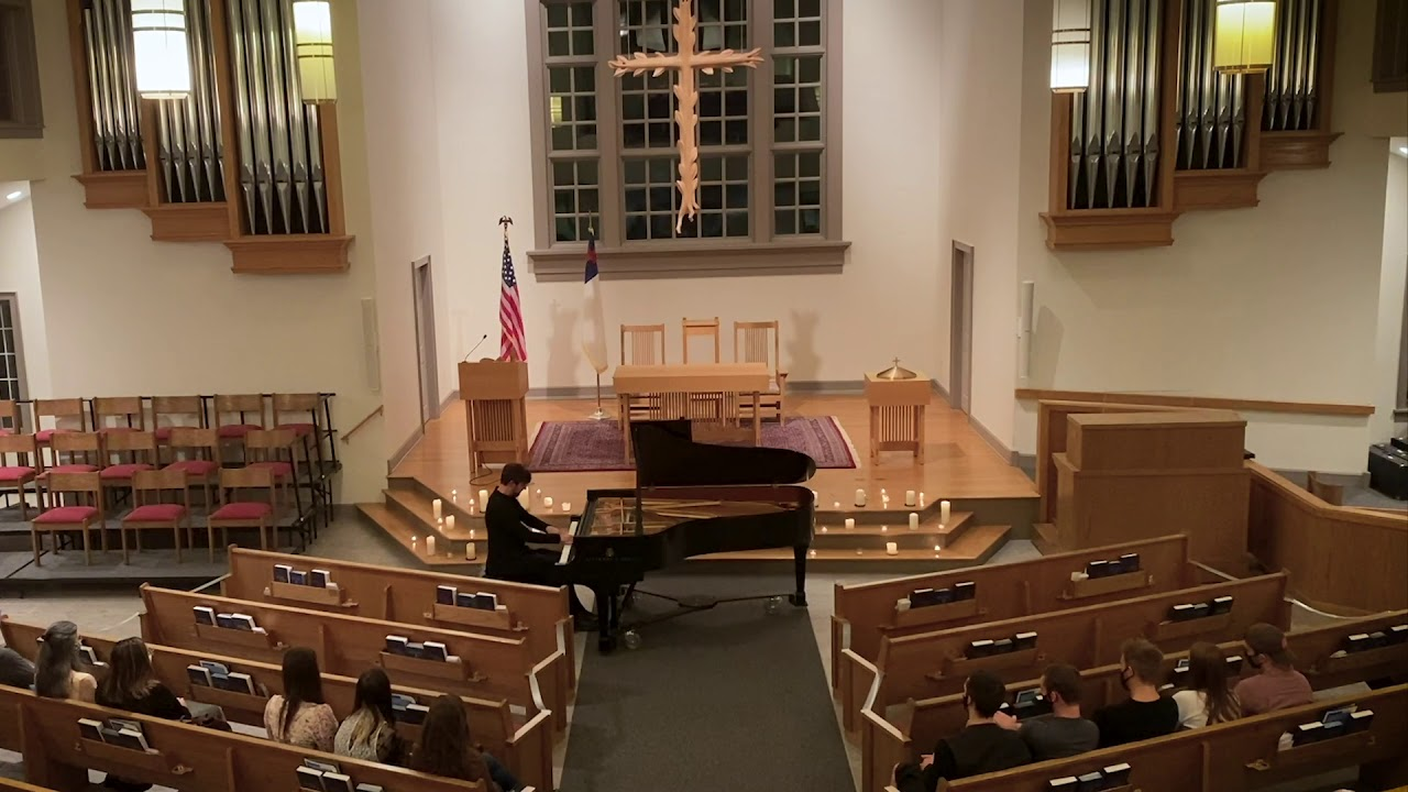 Alexandre Plays Liszt on the CWR Concert Series in Cleveland