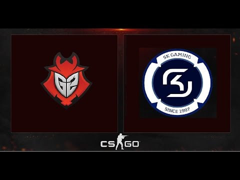 G2 vs SK 16-0  - EPICENTER Moscow -  Train (Game 1)