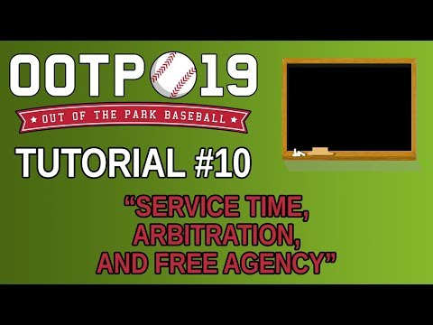 OOTP 19 Tutorial #10 - Service Time, Arbitration, and Free Agency
