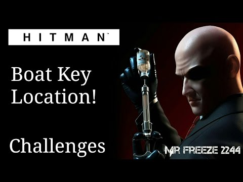 Hitman 2016 Boat Key Location Youtube