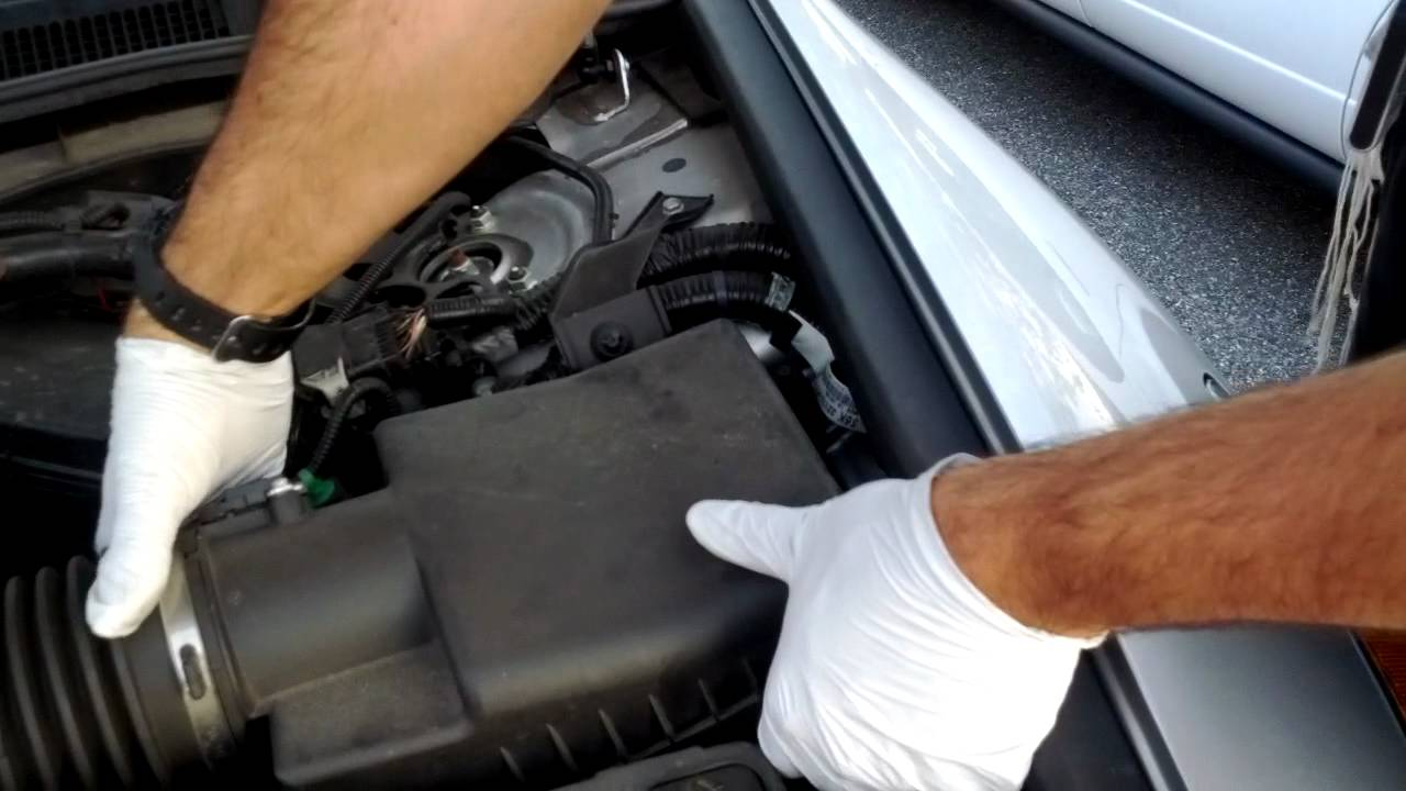 Change Air Cleaner Filter 10 Honda Accord V6 Youtube