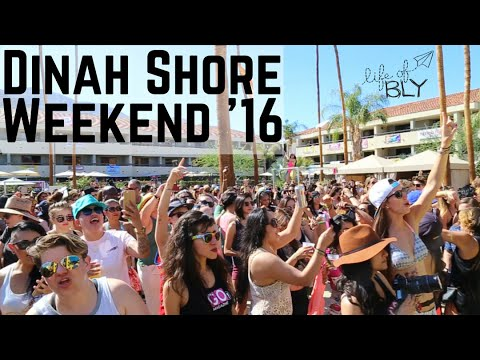 DINAH SHORE WEEKEND | LIFE OF BLY