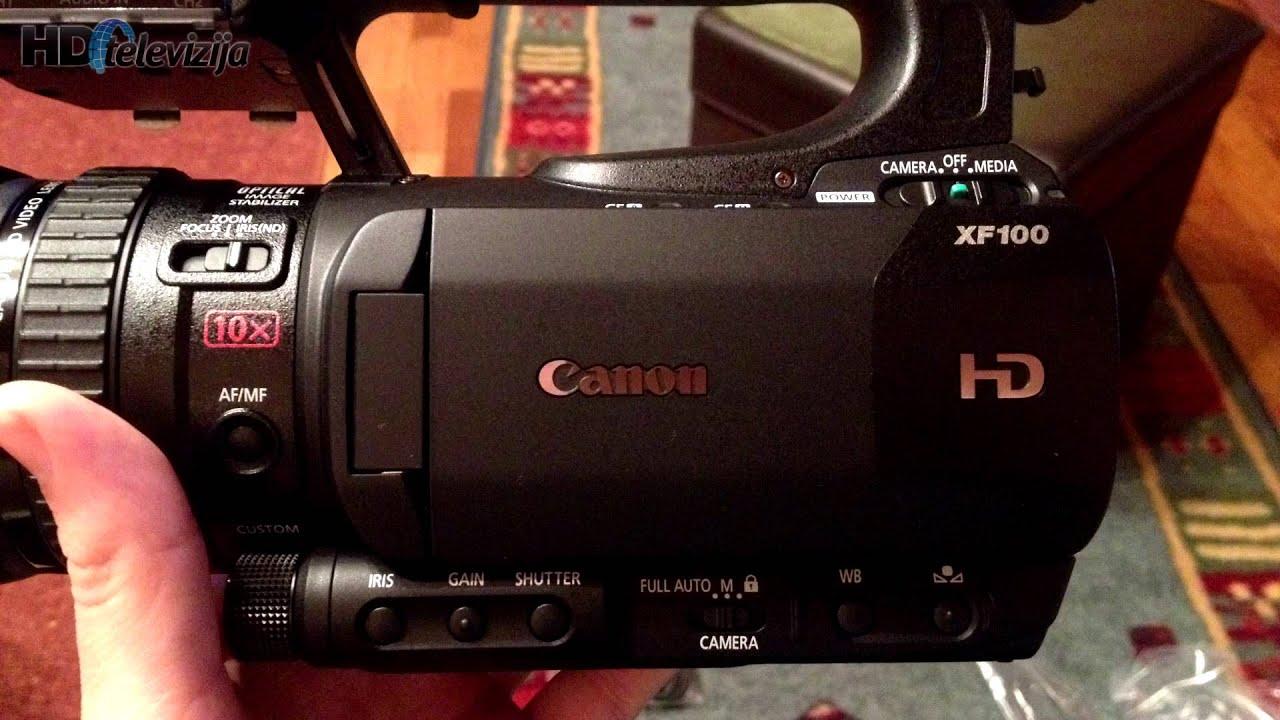 canon xf100 sample footage