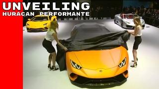 Lamborghini Huracan Performante Unveiling