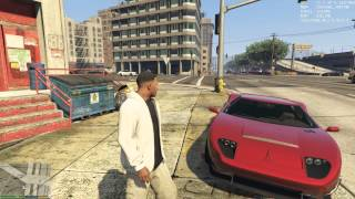 Gtx 980m GTA V Benchmark Gameplay Max Details vsync off ASUS G751JY 1080p MFAA Enabled