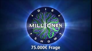 75.000€ Frage | Millionenshow Soundeffect