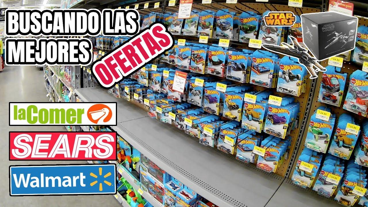 Buscando los mejores Hot Wheels en centros comerciales Sears, Walmart y La Comer
