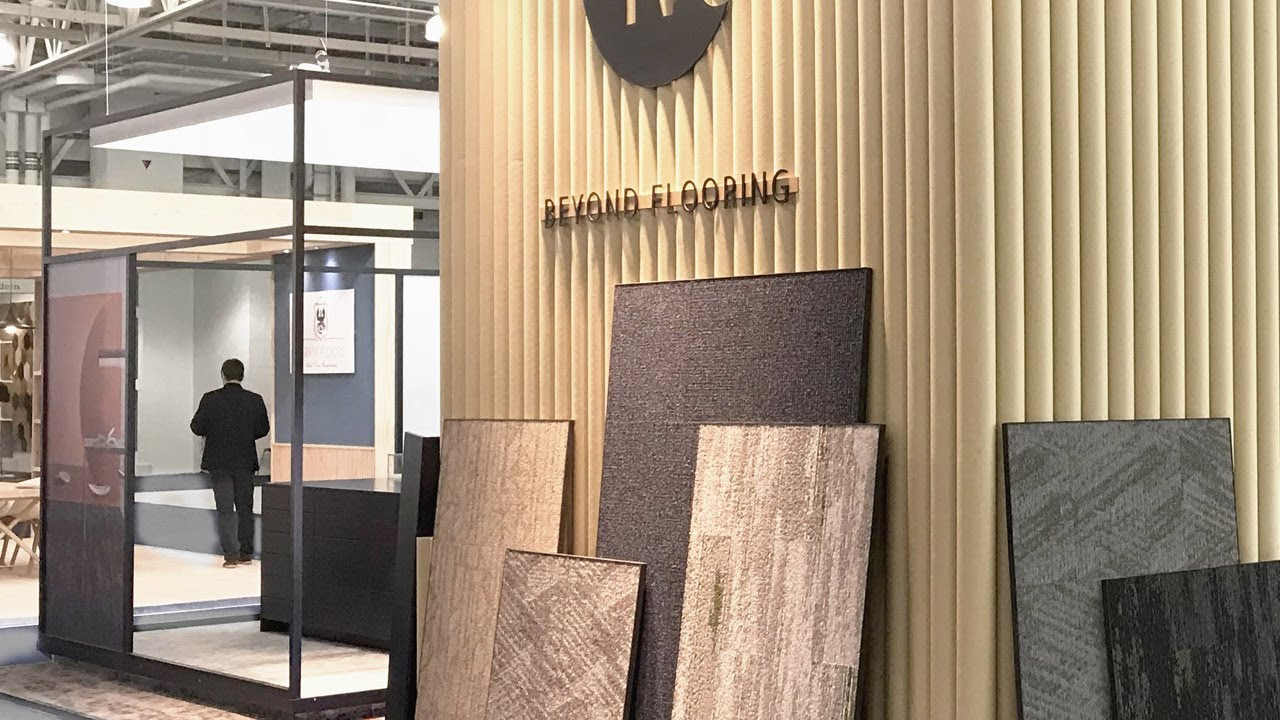 Discover Ivc S Commercial Flooring Solutions Bau 2019 Youtube