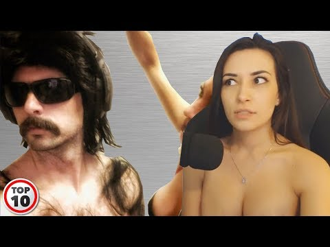 Top 10 Naughtiest Moments Caught On Twitch