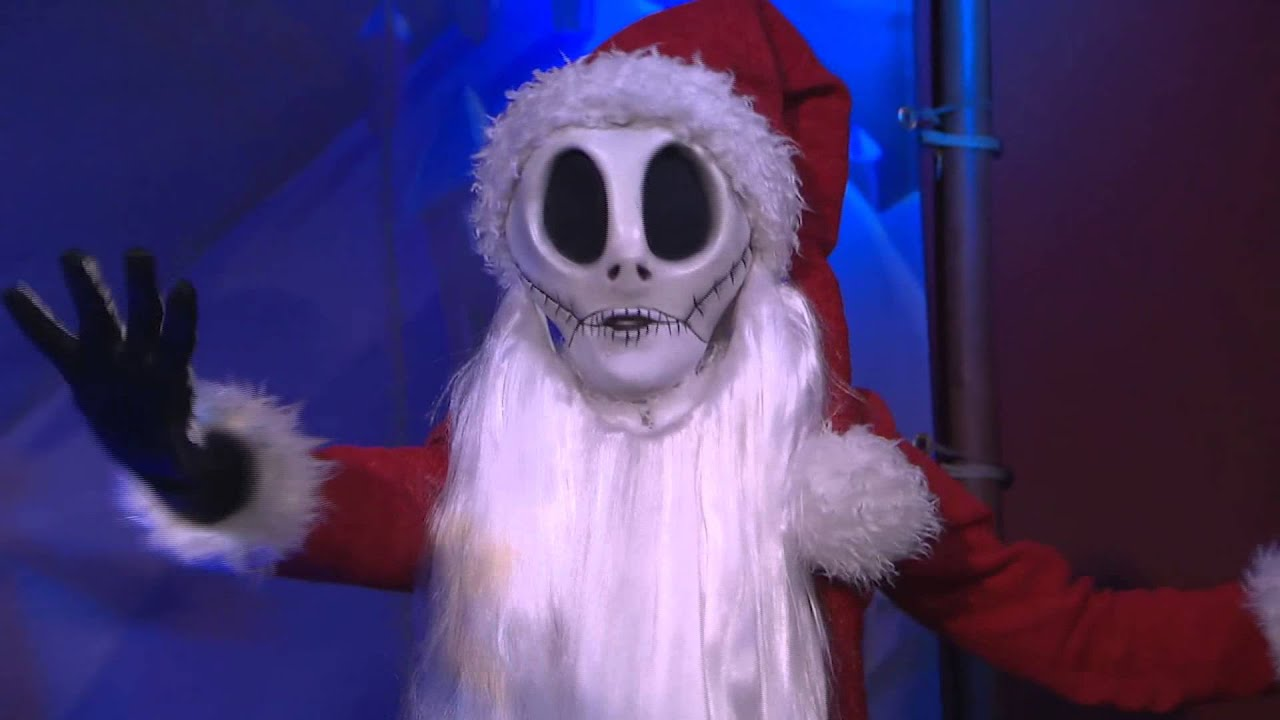 Nightmare Before Christmas Sandy Claws at Walt Disney World - YouTube