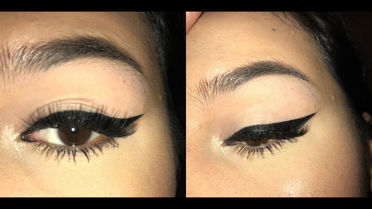 Winged eyeliner tutorial 2017 youtube winged eyeliner tutorial 2017 baditri Image collections