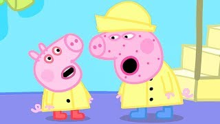 Peppa Pig Channel | George Pig Catches a Cold and Peppa Pig is Not Well