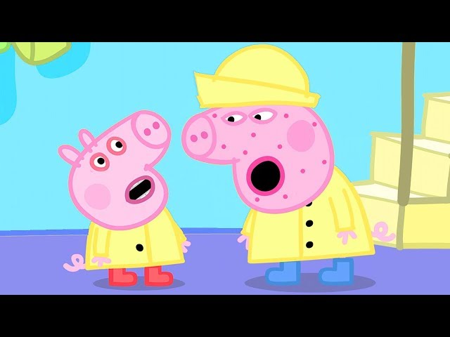 Peppa Pig Official Channel | George Pig Catches a Cold and Peppa Pig is Not Well