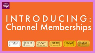 Introducing: Channel Memberships