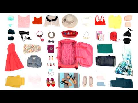 KAZA.dk - Sådan pakker du kufferter - kvinder