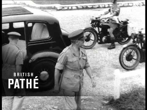 Field Marshall Slim In Malaya (1949)