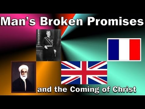Man's Broken Promises and the Coming of Christ