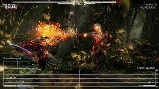[60fps] Mortal Kombat X: Xbox One Frame-Rate Test