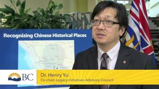 Chinese Canadian historic places receive provincial recognition