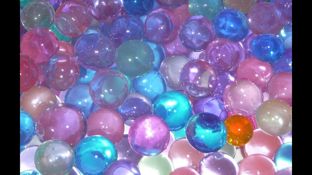 Water Balz Polymer Balls Youtube