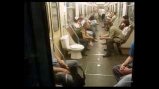 Приколы в метро под музыку