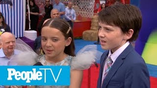 Siblings Madeleine & Jack McGraw Talk Working Together On The Toy Story Franchise   PeopleTV