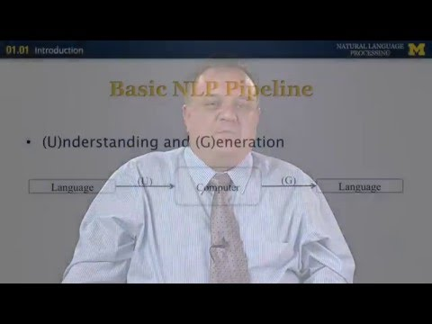 Introduction - Natural Language Processing | University of Michigan