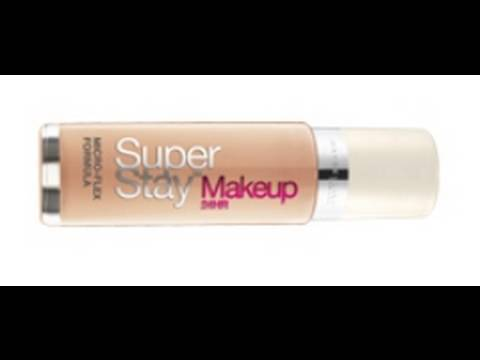 Maybelline SuperStay 24 hr. Makeup Review - YouTube